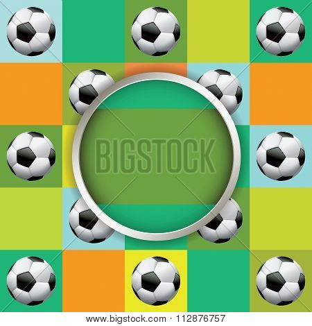 Vector Soccer Tournament Illustration
