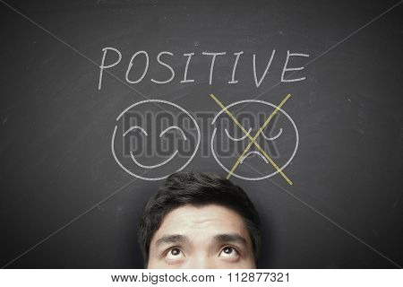 Man With Positive Thinking