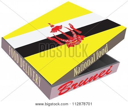 Large Cardboard Box For Delivery Food Brunei