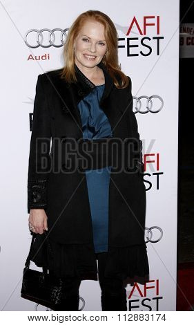 HOLLYWOOD, CALIFORNIA - November 4, 2009. Marg Helgenberger at the AFI FEST 2009 Screening of