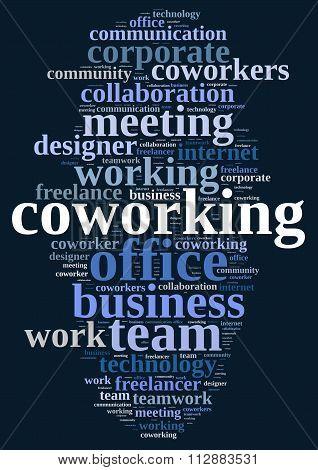 Word Cloud Coworking.