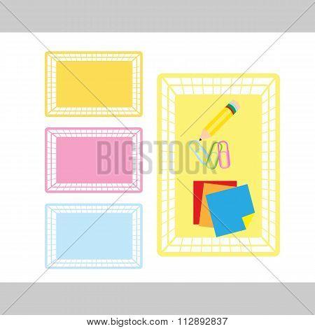 Classroom Object Basket