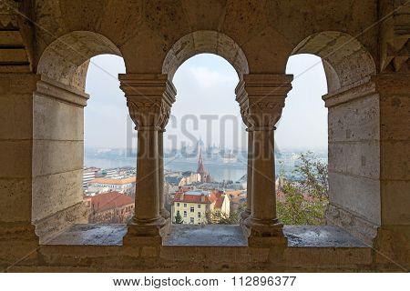 Cityscape Of Budapest, Capital Of Hungary