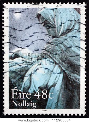Postage Stamp Ireland 2006 Madonna And Child, Christmas