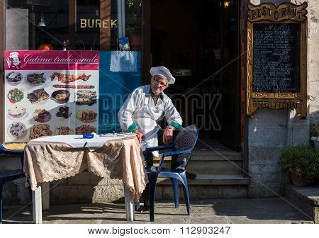 Restaurant in Albania