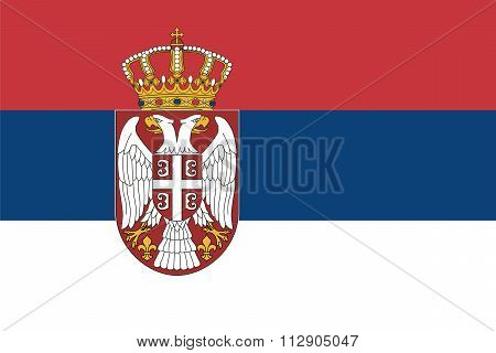 Standard Proportions For Serbia Flag