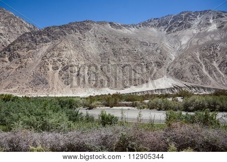Mountain In Nubra Valley, Ladakh, India