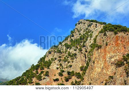 Lefka Ori - rocky summit of the White Mountains