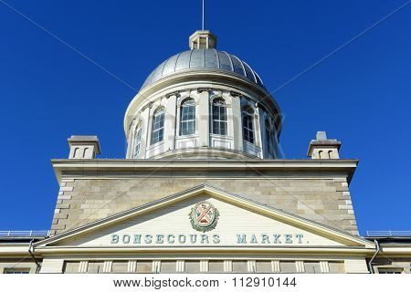 Bonsecours Market, Old Montreal, Quebec, Canada