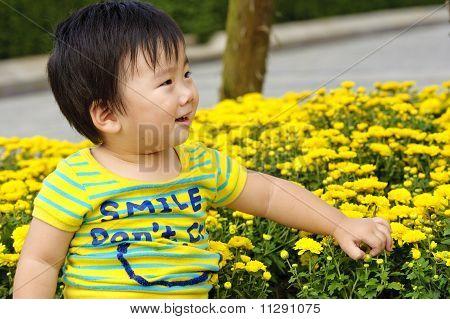 ein glückliches baby
