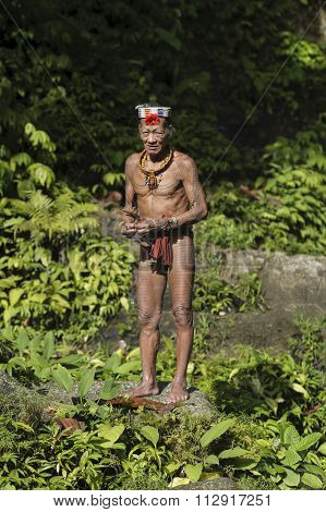 Gobbaik Toikod, 65, The Indigenous Inhabitants Ethnic.