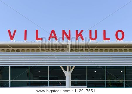Vilankulo Airport, Mozambique