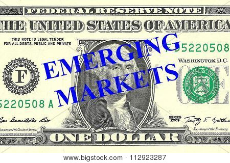 Emerging Markets Concept