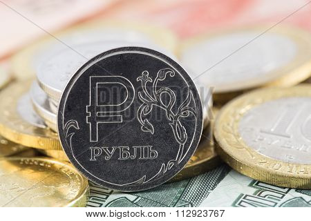 One Rouble Icon