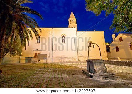 Biograd Na Moru Old Square And Church
