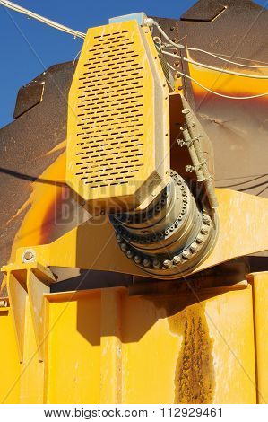 machine part sand extraction