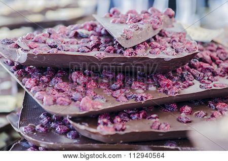 Chocolate With Blueberry