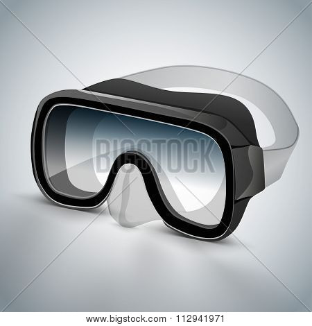 Diving goggles diving mask black