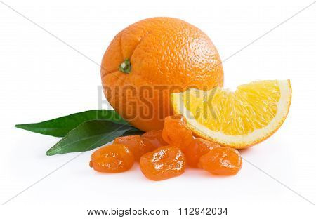 Orange And Candied Fruit