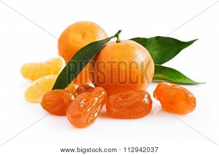 Mandarin And Candied Fruits