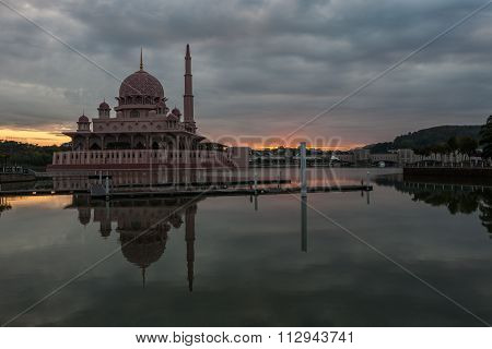 Putra Mosque, Putrajaya, Malaysia