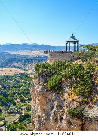 Panoramic View Of Ronda, Viewing Platform, Andalusia, Spain