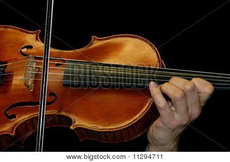 Hand And Violin