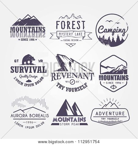 Set of premium vector labels part 1