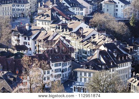 Bern, The Old Town Roofs