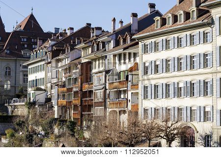Townhouses In City Center Of Bern