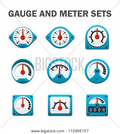 Gauge Meter Sets