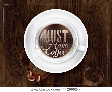Poster Coffee Must Have