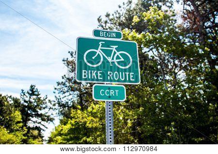 Bike Path Begin