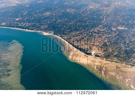 Inhambane Province Aerial View - Mozambique