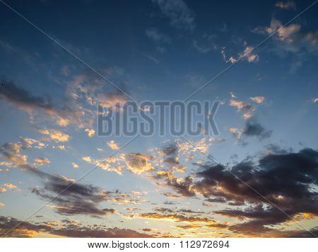 Relaxing sky