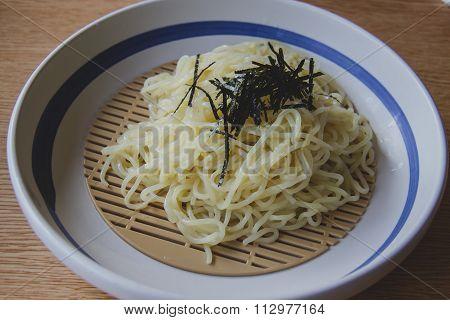 Soba, japanese noodle style Tone Japanese
