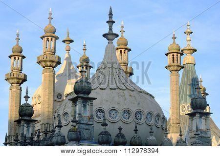 Roof of brighton pavilion