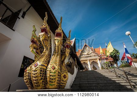 Outdoor Decoration In Thai Style Architecture