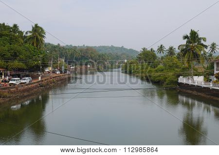 The river in India