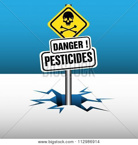 Pesticides signpost