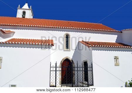 Salir parish church in the Serra de Monchique mountain