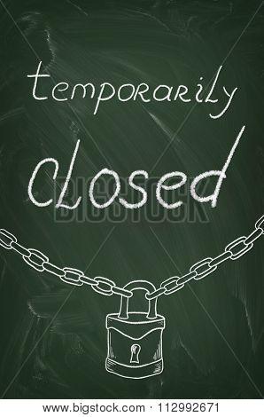 Temporarily Closed On Blackboard