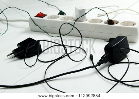 Chaos Around Extension Cable