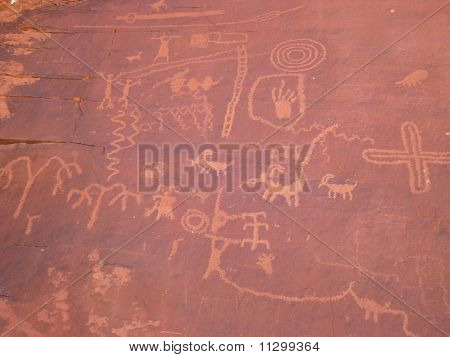 Hyroglyphs indio
