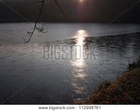 Landscape Of Lakes, South Bohemia