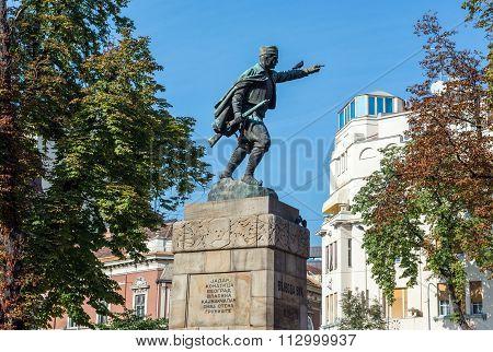 Monument In Belgrade