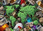 Постер, плакат: Recycle Trash And The Environment