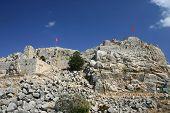 foto of saracen  - photo of nimrod castle located on golan heights israel - JPG