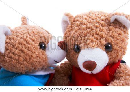 Toy Bears Closeup