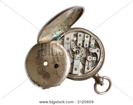Broken Silver Watch